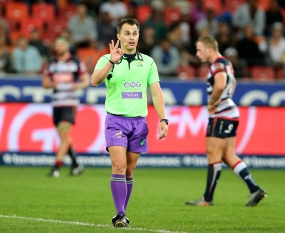 Referees for Super Rugby Quarterfinals