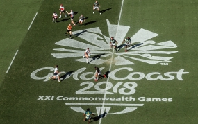 Commonwealth Games. 7s referees, Day 3